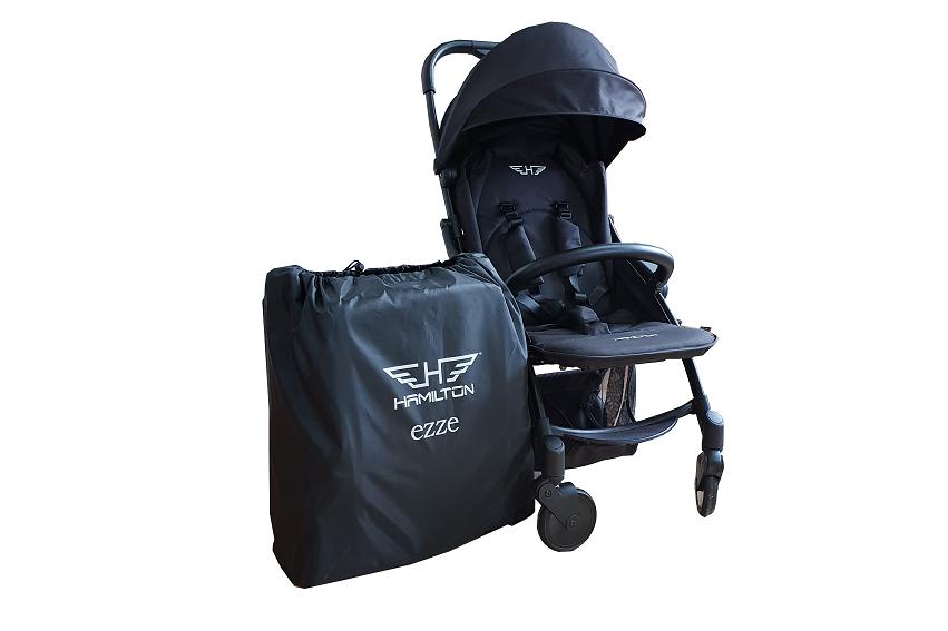 Hamilton EZZE ELITE X1 Autofold Stroller - German Design