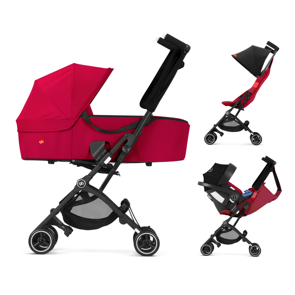 pockit+ plus 2018 2019 3 in 1 Travelling System Stroller @ The Baby Loft